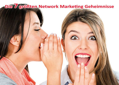 7 Network Marketing Geheimnisse